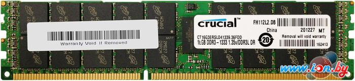 Оперативная память Crucial 16GB DDR3 PC3-10600 (CT16G3ERSLD41339) в Могилёве