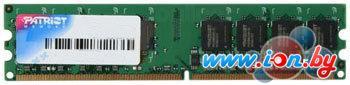 Оперативная память Patriot 2GB DDR2 PC2-6400 (PSD22G8002) в Могилёве