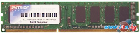 Оперативная память Patriot 4GB DDR3 PC3-12800 (PSD34G16002) в Могилёве
