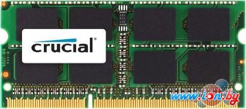 Оперативная память Crucial 8GB DDR3 SO-DIMM PC3-12800 (CT102464BF160B) в Могилёве