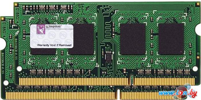 Оперативная память Kingston ValueRAM 2x4GB KIT DDR3 SO-DIMM PC3-10600 (KVR13S9S8K2/8) в Могилёве