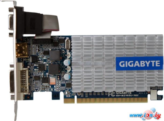 Видеокарта Gigabyte GeForce 210 1024MB DDR3 (GV-N210SL-1GI) в Могилёве