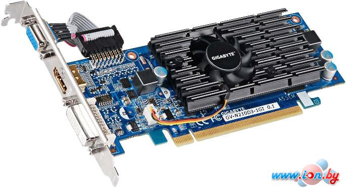 Видеокарта Gigabyte GeForce 210 1024MB DDR3 (GV-N210D3-1GI) в Могилёве